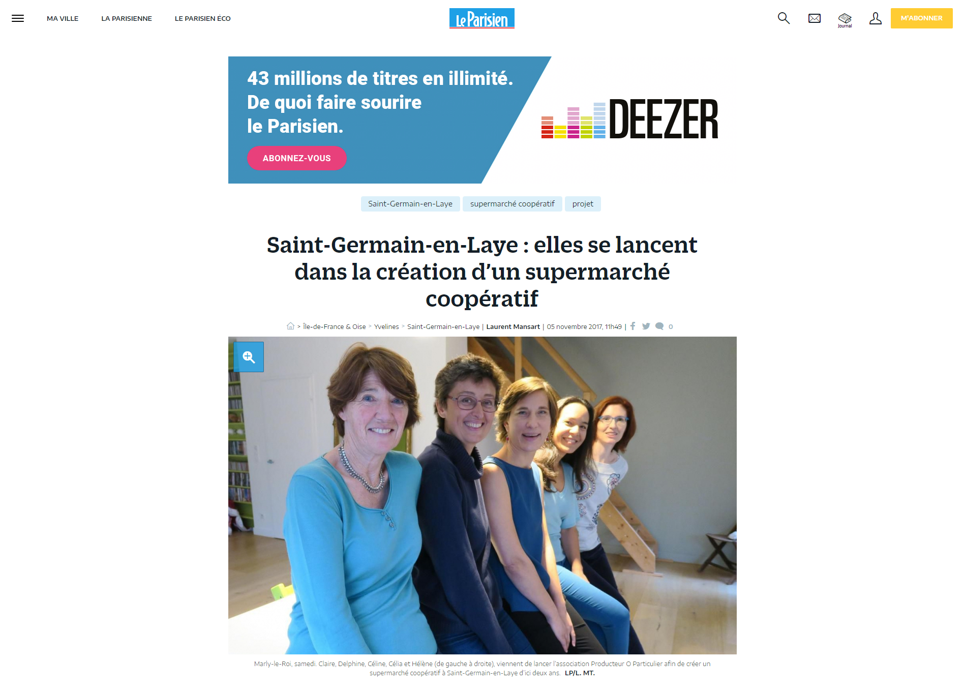 Article Texte + image